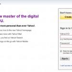 Iniciar sesión correo Yahoo Mail!